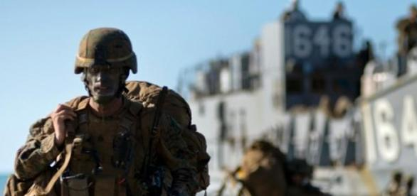 Talisman Sabre biennial forces in war games