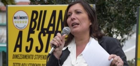 Valeria Ciarambino, candidata Cinquestelle