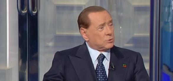 Berlusconi ieri sera a 'Porta a porta'