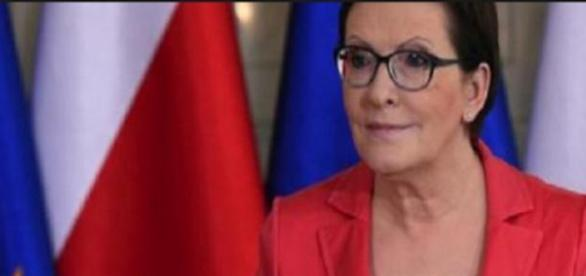 Ewa Kopacz - premier, lider PO