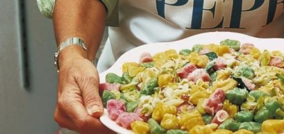 La ricetta degli gnocchi bicolore