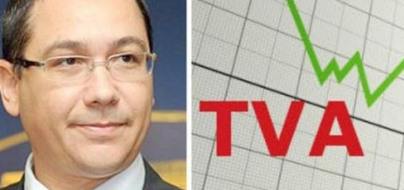 Ponta reduce TVA-ul la alimente