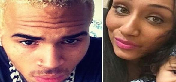 Chris Brown, Nia Guzman et Royalty.