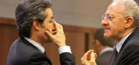 De Luca sfida Caldoro alle elezioni regionali