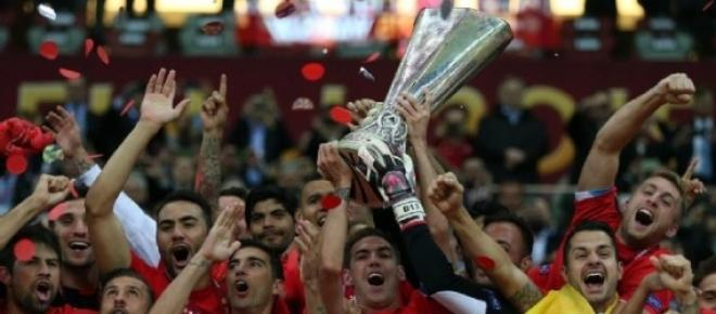 2014/15 Europa league winners Sevilla