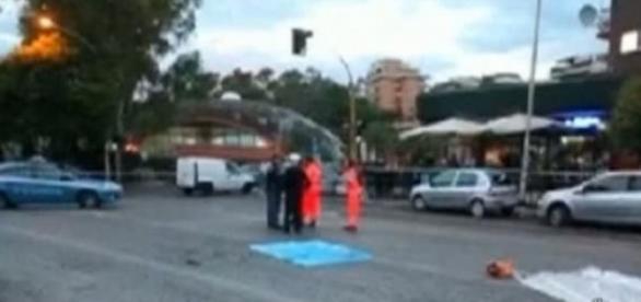 Accident rutier produs la Roma
