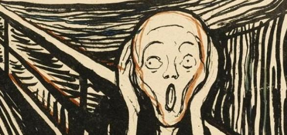 El Grito, Edvard Munch (1910)