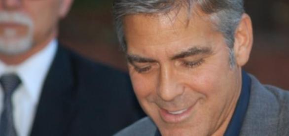 George Clooney altert würdevoll