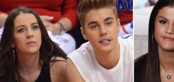 Pattie Mallette quer que Bieber case com Selena.