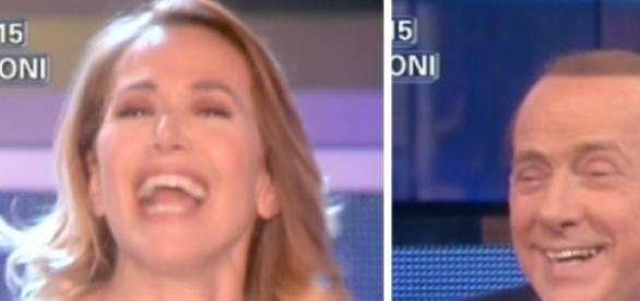 Pomeriggio cinque D'Urso intervista Berlusconi