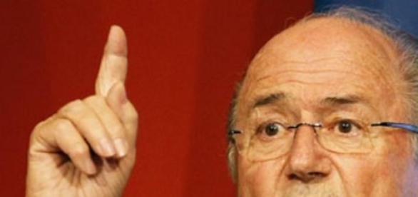 Sepp Blatter. theeagleonline.com.ng
