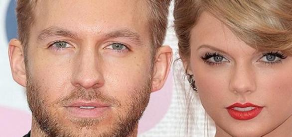 Taylor Swift et Calvin Harris.