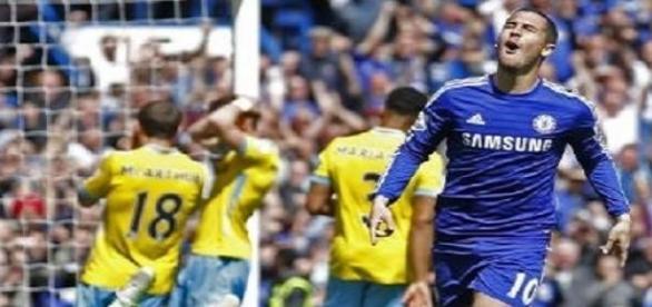Chelsea, Hazard et Mourinho champions d'Angleterre