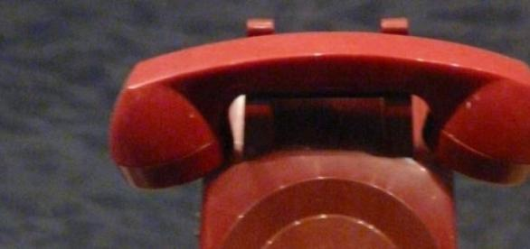 Czerwony telefon - jeden z symboli zimnej wojny