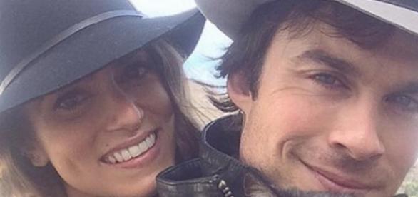 Ian Somerhalder und seine Frau Nikki Reed.