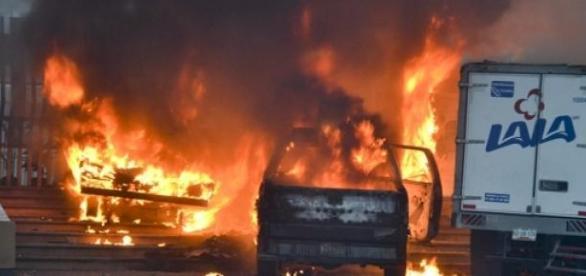 Les cartels ont réagi à l'opération policière.