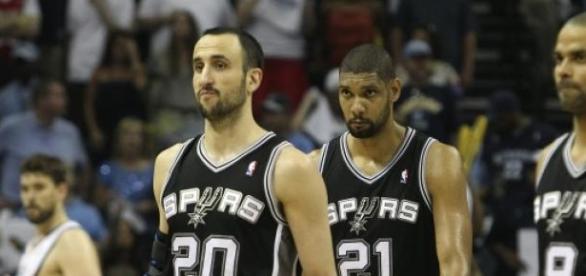 Manu y Duncan, dudan de continuar en la NBA