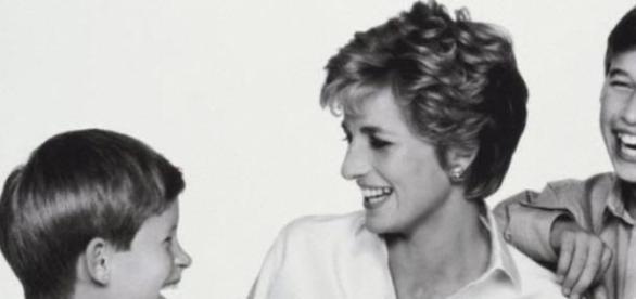 Princesa Diana foi uma das mães mais famosas