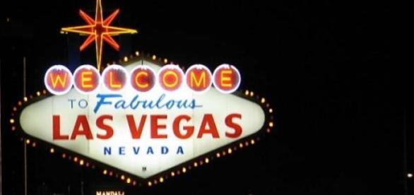 Rótulo de bienvenida a Las Vegas