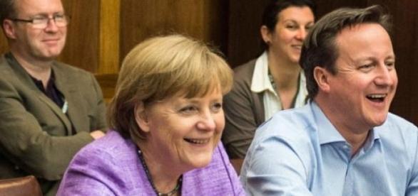 Cameron i Merkel raczej się dojdą do porozumienia.