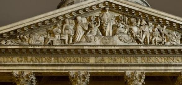 Panteón de los Hombres Ilustres en Paris.
