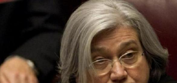 Rosy Bindi, presidente commissione antimafia
