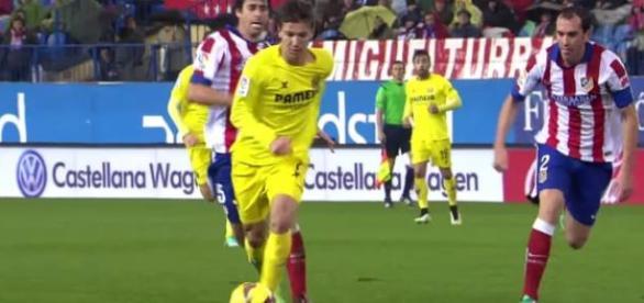 Vietto contra el Atlético de Madrid