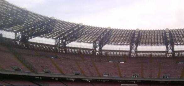 Estadio del equipo italiano, Nápoles.