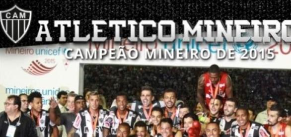 Atlético MG Campeão Mineiro de 2015