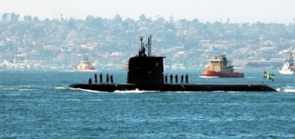 Navios suecos participam em exercício da NATO.