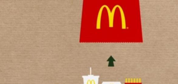 'BagTray' é o novo saco da McDonald's.