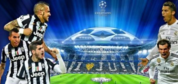 Juventus-Real Madrid, Design by: Jafar.