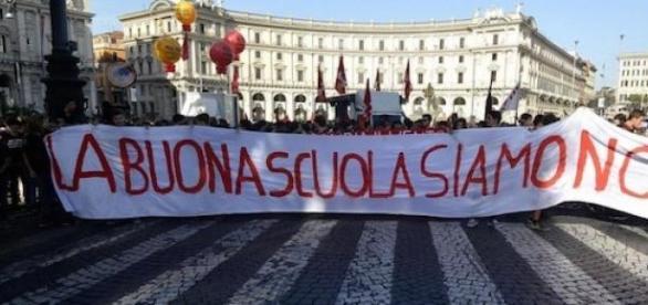"""Manifestazione di oggi contro la """"Buona Scuola"""""""