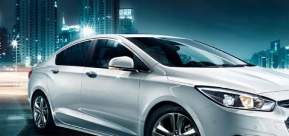 Chevrolet Cruze chinês, produzido pela Shanghai GM