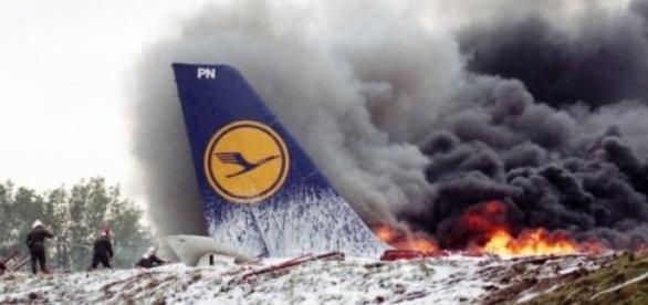 katastrofa samolotu w Alpach