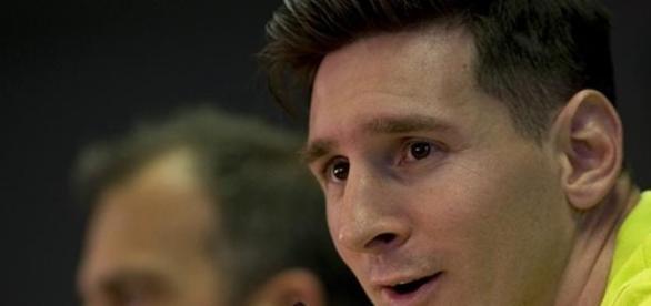 Messi en conferencia de prensa esta tarde