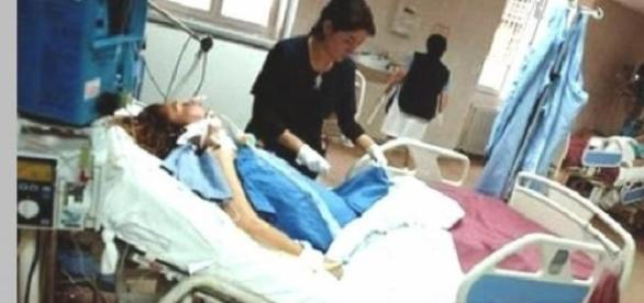 Tanara gravida aflata in coma