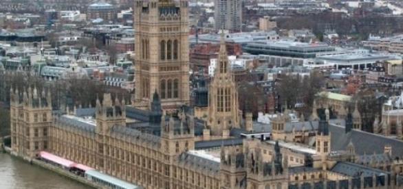 Westminster, où siège la Chambre des communes.