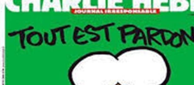 """okładka satyrycznego tygodnika""""Charlie Hebdo"""""""