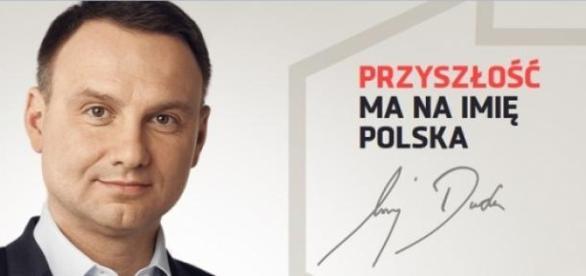 Andrzej Duda - poster wyborczy, mat. prasowy