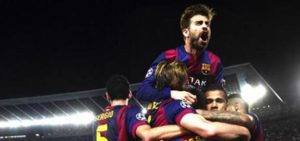 Barcelona goleia o Bayern de Munique na Liga