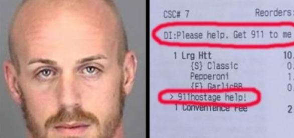 """Imagem mostra rosto do sequestrador e o """"pedido"""""""