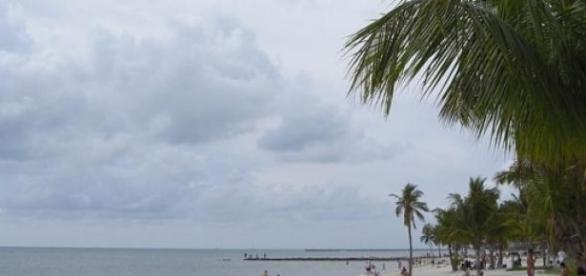 Playa de Florida en Estados Unidos