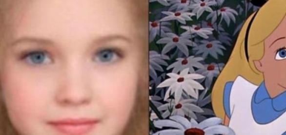 Alicia es preciosa ¿cierto?