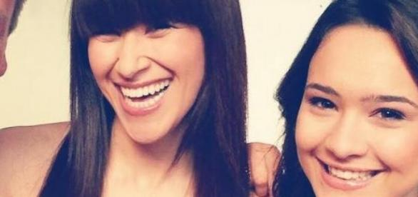 DSDS: Viviana Grisafi und Erica Greenfield.