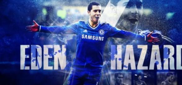 Eden Hazard, joueur de l'année en Angleterre.