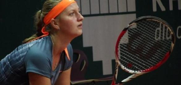 Kvitova knocked out Serena in Madrid in the semis