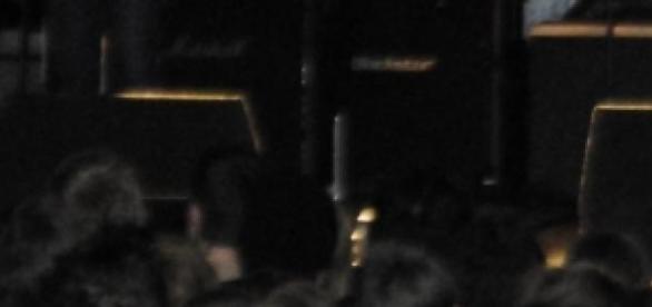 Live crowd shot at a gig.