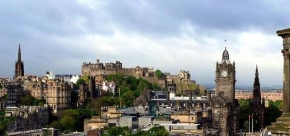So idyllisch ist es in Edinburgh gerade nicht