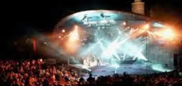Amfiteatr w Opolu - miejsce festiwalu
